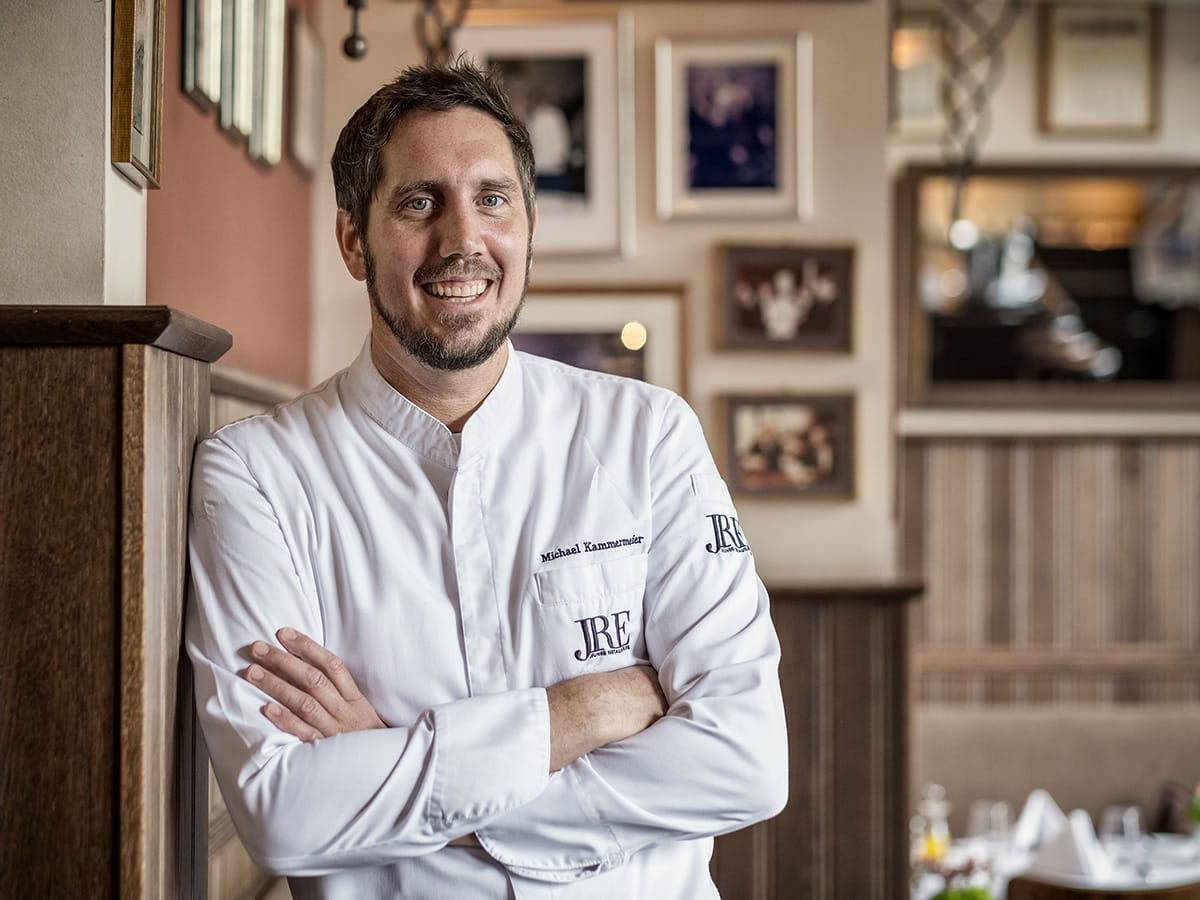 Potrait of star chef Michael Kammermeier